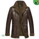 Brown Sheepskin Winter Coats CW852261