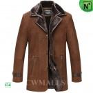 CWMALLS® Double Collar Sheepskin Coat CW855566