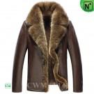 CWMALLS Fur Trim Shearling Jacket CW855282