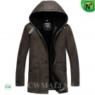 CWMALLS® Sheepskin Jacket with Hood CW836019