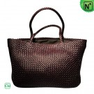 Large Woven Leather Totes CW255159