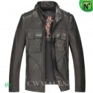 CWMALLS® Leather Biker Jacket Mens CW806047