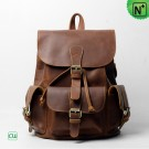 CWMALLS Leather Drawstring Backpack CW915752