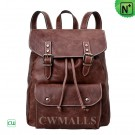 Large Leather Backpack Womens CW253363