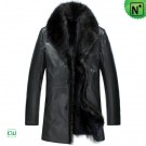 Men's Fur Coats Black CW852458