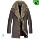 Mens Fur Leather Coat CW852468