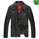 Mens Vintage Leather Biker Jacket CW850204