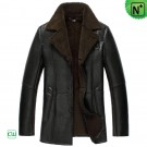 Mens Shearling Leather Jacket CW852531