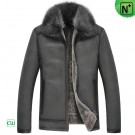 Mens Shearling Winter Jacket CW852273