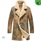 CWMALLS® Shearling Lined Trench Coat CW816116
