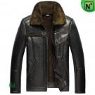 Sheepskin Lined Leather Jacket CW856112