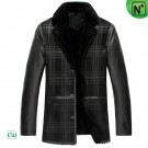 Designer Sheepskin Coat Black CW852278