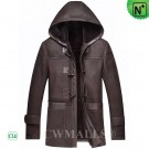CWMALLS® Mens Sheepskin Duffle Coat CW836017