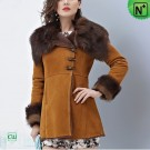 Sheepskin Women's Coat CW644133