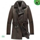 Genuine Sheepskin Leather Coat CW856080