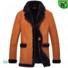 Suede Sheepskin Jacket Men CW852206