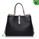 Women Woven Leather Handbags CW255149